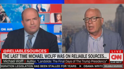Michael Wolff Directly Slams Brian Stelter