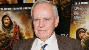 Writer Cormac McCarthy attends the New York premiere of Dimension Films The Road at Clearview Chelsea Cinemas on November 16 2009 in New York City