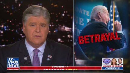 Sean Hannity Blasts Biden on Afghanistan