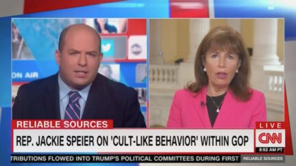 Brian Stelter, Jackie Speier on Reliable Sources
