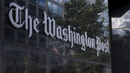 Washington Post Sign
