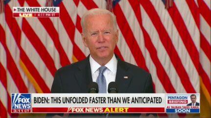 Biden Speech Draws Big Ratings