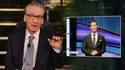 Bill Maher Compares Women Facing Bounty Hunters in Texas to Jeopardy Host Mike Richards Losing His Gig