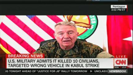 U.S. Admits Kabul Strike Killed 10 Civilians