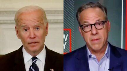 Jake Tapper Rips Joe Biden for Speaking Out Against the Unvaxxed