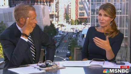 Brian Williams and Nicolle Wallace talk about covid and 9/11 on MSNBC