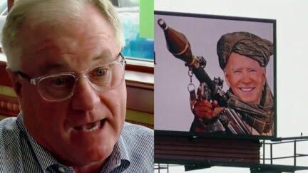 Scott Wagner Explains Why He Spent $15,000 on Billboards Depicting Joe Biden in Taliban Garb