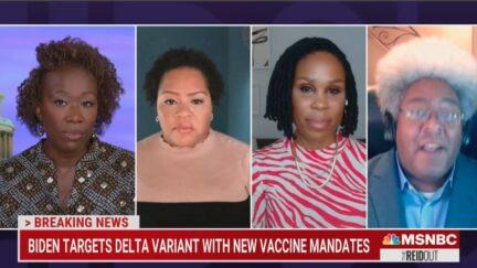 Elie Mystal rails against vaccine mandate opponents
