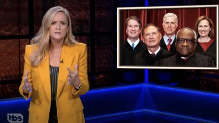 Samantha Bee slams the Supreme Court on 'Full Frontal'