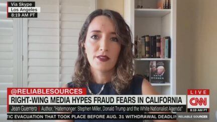 Jean Guerrero on CNN's Reliable Sources