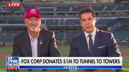 Jesse Watters announces Fox Corp. is donating $1 million to Tunnel to Towers