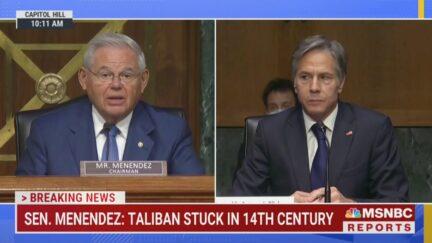 Bob Menendez Begins Antony Blinken Senate Hearing