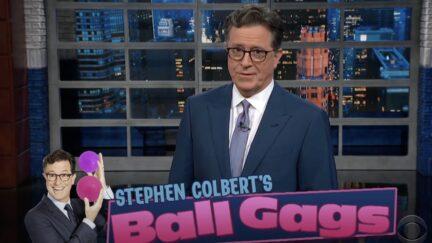 Stephen Colbert mocks Tucker Carlson on Late Show