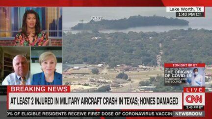 Military Plane Crash in Texas