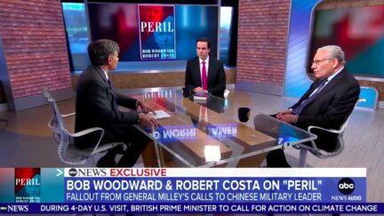 Robert Costa and Bob Woordward talk 'Peril' on ABC News