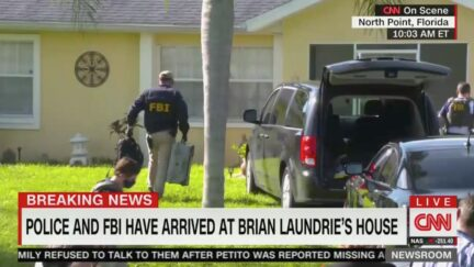 Police, FBI Searching Through Brian Laundrie's Family House