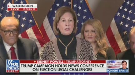 Sidney Powell, Rudy Giuliani Hold 2020 Election Press Conference