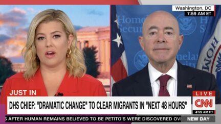 Brianna Keilar Asks Alejandro Mayorkas Why Not Call Border a Crisis?