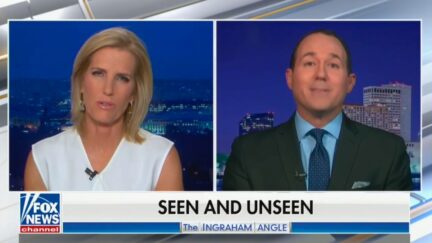 Laura Ingraham suggests she agrees with Joy Reid