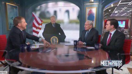 Chuck Todd interviews Bob Woodward and Robert Costa