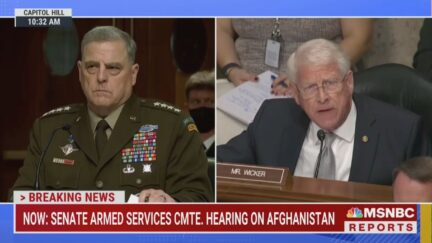 Mark Milley faces questions from Roger Wicker