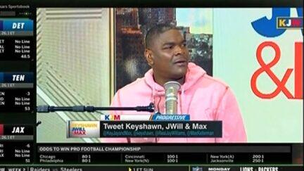 Keyshawn Johnson shocked to learn about Max Kellerman's rap career