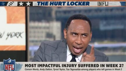 Stephen A. Smith questions Colts need to be loyal to Carson Wentz