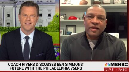 Doc Rivers invokes Trump conspiracy when talking about Ben Simmons on MSNBC