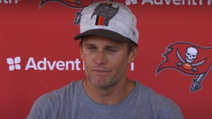Tom Brady appears sick during Thursday press conference
