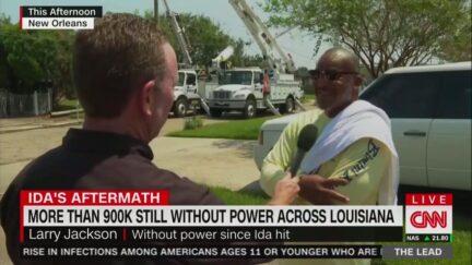Louisiana Man Tells CNN He Offered Repair Crews Jambalaya