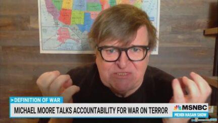Michael Moore Rips Bush, Cheney