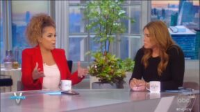 Caitlyn Jenner and Sunny Hostin discuss GOP on The View