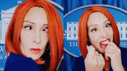TikTok User Rachel Maria Mocks Jen Psaki Using Sarah Cooper's Trump Lip-Synch Bit