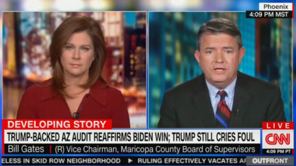 Arizona Republican Decries the Big Lie on CNN