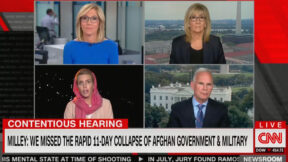 CNN's Clarissa Ward Reacts to Afghanistan Hearing