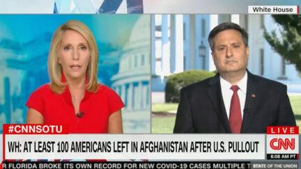 Dana Bash Presses Ron Klain on Afghanistan