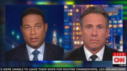 Don Lemon Tells Chris Cuomo Manchin, Sinema Are Republicans