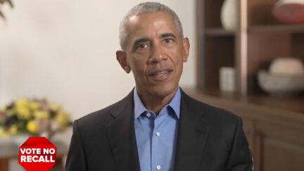 Barack Obama Campaigns Against CA Recall