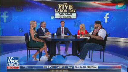 Fox News' The Five on Labor Day