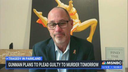 Frank Guttenberg on MSNBC on Oct. 19