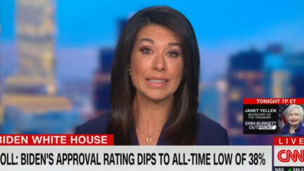 CNN Talks About Biden Approval Ratings Hitting New Lows