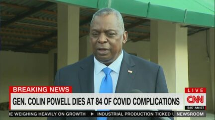 SecDef Lloyd Austin on Colin Powell's passing