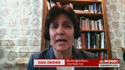 Kara Swisher on MSNBC on Oct. 26