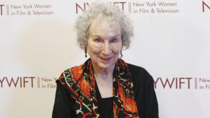 Margaret Atwood at 2019 NYWIFT Muse Awards