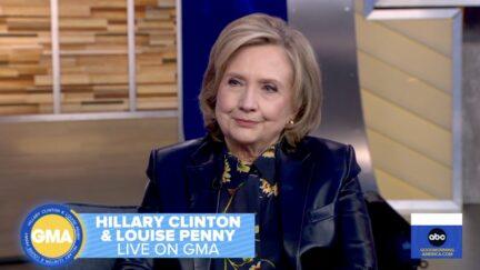 Hillary Clinton on Good Morning America