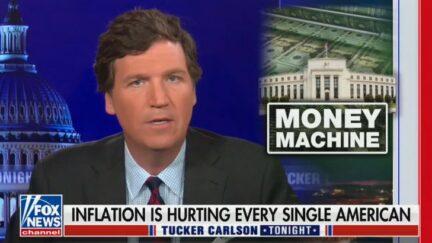 Tucker Carlson mocking Pete Buttigieg