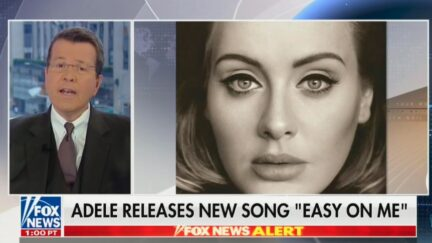 Neil Cavuto praising Adele