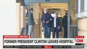 Bill Clinton Leaves Hospital After Blood Infection