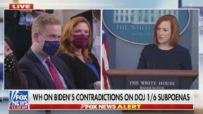 Peter Doocy, Jen Psaki at White House Press Briefing