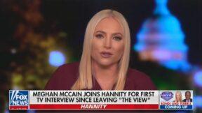 Meghan McCain defending Sarah Palin
